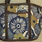 Franco Sarto Fabric & Leather Floral Handbag Shoulder Bag