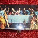 THE LAST SUPPER WOODEN BOX 6 1/2'' LONG