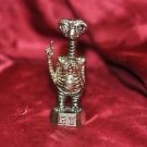 E.T. 1980s of Metal Figurine, Brass Colored, Extra Terrestrial!