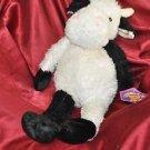 "NWT Animal Pals COW Bean Bag Plush Kuddle Me Toys Lovey 9"" New Farm Animal"