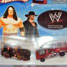 Hot Wheels KANE vs.UNDERTAKER 1:64, 3+ , Concepts designs World Wrestling 2 cars