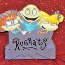 RUGRATS COLLECTORS CASE. 90's, 10''tall by 11''wide