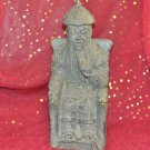 Chinesse Buddha Sitting Statue 12''Tall by 5''Wide made out of clay material