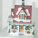 "Christmas Village 2 level House 10"" X 6"""