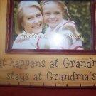 "Grandma's frame Modern View 2008 NY Natural Wood frame Beige Frame 5""x7"" and"