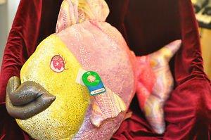 Giant Big Bean Bag Animal Fish  3+, Boys & Girls and Not Sure Plush and