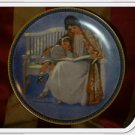 """Norman Rockwell """"Mother's Day"""", by Knowles : Vintage Decorative Plate, Mothers"""