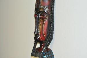 Tribal Mask for Wall or Table from Design style NY 15''Tall 3''deep 5''Wide
