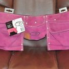 11 Pocket Heavy Duty Tool Belt Pink