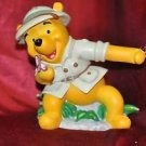 "Disney's Animal Kingdom Winnie the Pooh Bear Fiqurine 6"" Tall"