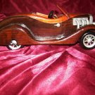 Collectable wooden car 12'' long