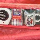 The Saturday Evening Post Coffee Warmer & Mug Gift Set