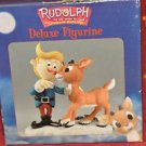 """Enesco Rudolph Deluxe Figure 872210 NIB """" I Am Not A Misfit"""" 5 1/2'' Tall by 4''"""