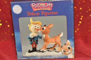 "Enesco Rudolph Deluxe Figure 872210 NIB "" I Am Not A Misfit"" 5 1/2'' Tall by 4''"