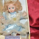 """VICTORIAN BEAUTY 8"""" BISQUE PORCELAIN LITTLE GIRL DOLL WITH BOX"""