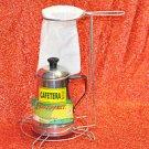 Aluminum Espresso Stovetop Coffee maker Less than 300 W, Multi cups 4 manual