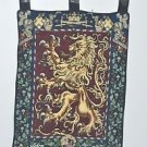 """CREST Medieval LION Tapestry Wall Hanging 32"""" X 12"""""""
