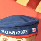2002 Official Winter USA Olympics Team Hat Multi-Color One Size Alpine Skiing