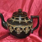 Teapot Pottery With Raised Dots Medium Made In England