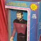 STAR TREK THE NEXT GENERATION COLLECTOR'S FIGURINE COMMANDER WILLIAM RIKER NIB