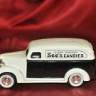 ERTL See's Candies 1938 Chevy Panel Truck Bank