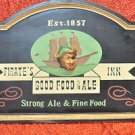 """Pirate""""s Inn good food & Sign Strong ale Contemporary, Man Cave & Plaque Multi-C"""