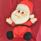 BIG VINTAGE DANDEE SANTA CLAUS CHRISTMAS HOLIDAY CHRIS KRINGLE PLUSH STUFFED