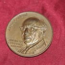 """Aaron Copland American Composer 3"""" Gold Plated Coin"""