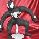 Plush Black Spiderman Marvel Kellytoy 2007 The Amazing Spiderman