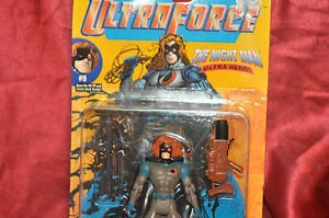Ultra Force The Night Man Malibu Comics MOC 1995 6in., Action Figure,Galoob