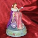 VINTAGE DISNEY BELLE PRINCESS CHRISTMAS SHOPPING & DANCING MUSIC BOX