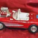 "Diecast Red Corvette model car 11"" X 5"""