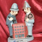 Pinkerton Security & Investigation Officer 12in. X 7in. Statue