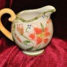 Ceramic Creamer Bowl Dishwasher Safe, Floral, Multi-Color and Porcelain