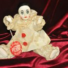 Vintage 1978 Effanbee Pierrot Collection French Figurine and Mixed Materials