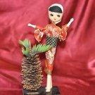 Unique Japanese Geisha Girl Doll / Figurine
