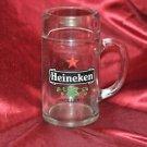 Heineken Heavy Glass Beer Mug Stein 0.51 L Vintage HOLLAND Barware