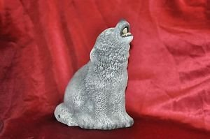 Large Howling Wolf - Cone Incense Burner, Gifts & Decor