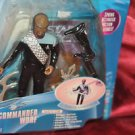 Star Trek LT. Commander Worf Spring Activated Action Features