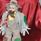 Emmett Kelly Porcelain Clown vintage rare