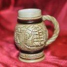 Vintage 1982 Handcrafted Ceramarte AVON German Beer Stein Mug Collectible Ships