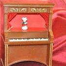 "Animated Piano Christmas Dancing Mouse Battery Operated 12.5"" Tall"