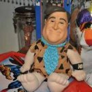 FRED THE FLINTSTONES MOVIE CUDDLY SOFT PLUSH TOY MATTEL 1993 Mixed Materials and
