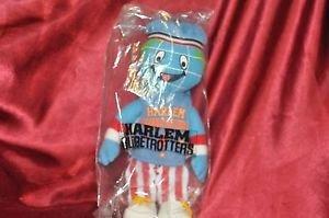 "11"" Harlem Globetrotters Globie Plush Stuffed Mascot Souveneir"