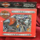2 Decks of Bicycle Playing Cards Harley Davidson Collectors Tin Made in the USA