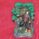 Lord of the rings Diorama dispay with Bilbo