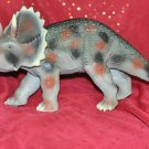 "TRICERATOPS LARGE FIGURE BIG DINOSAUR Toy approx 18""x9"" COLLECTIBLES PERFECT"