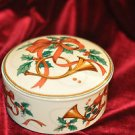 Mikasa China Jubilation Holiday Porcelain Candy Dish Multi-Color and bowl