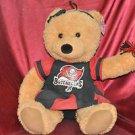 "NFL TAMPA BAY BUCCANEERS 20""in. CHEERLEADER Teddy Bear Animal Sportsfan Toy"