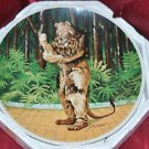 THE COWARDLY LION If I Were King Wizard Of Oz Knowles Collectors Plate MGM 1978
